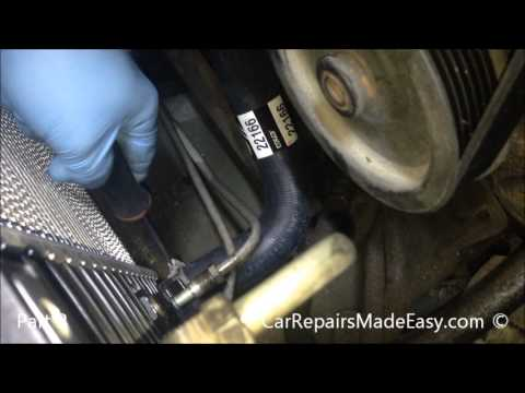 Ford Explorer 4.0L Radiator Replacement Part 2