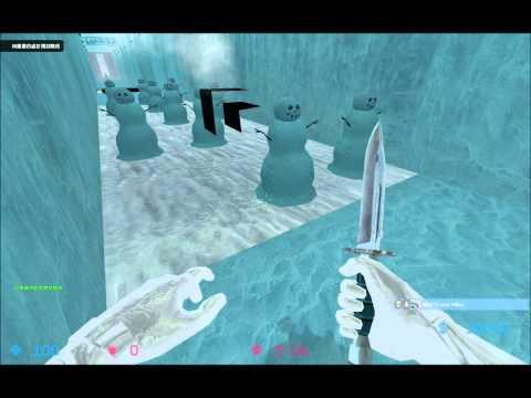 [老貓]CS:S陷阱地圖 deathrun_iceworld_v2 Music Videos