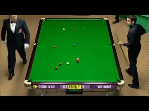 Ronnie O'Sullivan -All his 147´s in 1 video-