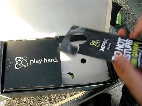 Radeon HD 5850 1GB ATI Video Card XFX Unboxing Linus Tech Tips