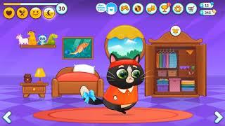 Fun Kitten Kids Games   Bubbu   My Virtual Pet Best Family Cat Mini Games  Cooking  Feed  Dress Up