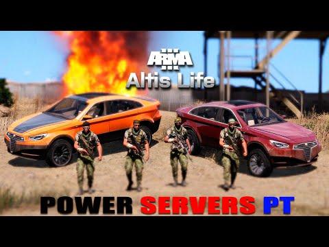 ARMA 3 ALTIS LIFE POWERSERVER PT | TOTALMENTE PORTUGUÊS
