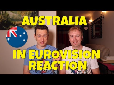 EUROVISION AUSTRALIA ALL SONGS REACTION