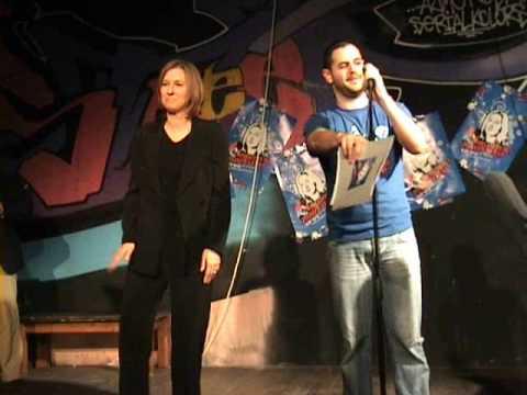 ציפי לבני רוקדת בקולטורה  -Tzipi Livni dancing