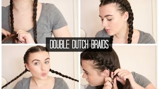 Double Dutch Braids | Quick & Easy Hairstyles
