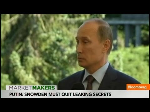 Edward Snowden Must Quit Leaking Secrets: Vladimir Putin