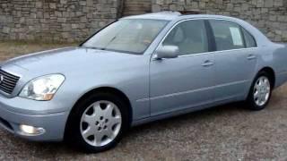2002 02 Lexus LS430 LS 430 Start up n Used Car Review at 154k Miles