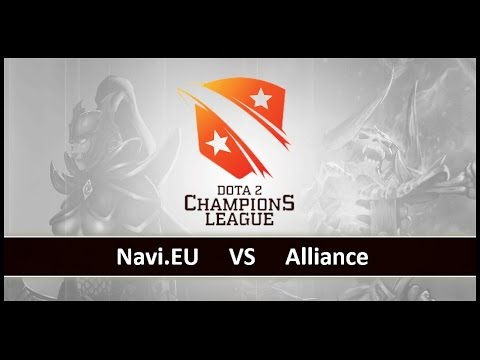 [ Dota2 ] Navi.EU vs Alliance - D2 Champions League S4 - Thai Caster