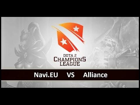 [ Dota2 ] Navi.EU vs Alliance - D2 Champions League S4 - Thai Caster