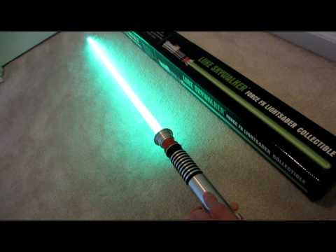 Master Replicas Force FX LightSaber Demo (Luke Skywalker SW-212)