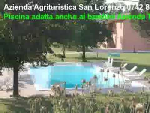 Azienda Agrituristica a San Lorenzo di Trevi, camere e appartamenti