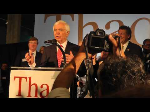 Thad Cochran's Victory speech - Primary Runoff 6-24-2014