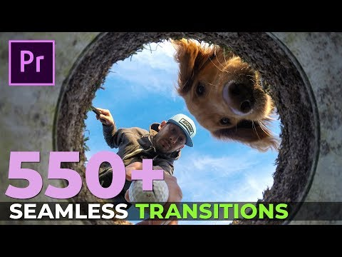 550+ Seamless Transitions for Adobe Premiere Pro CC - Tutorial and Review