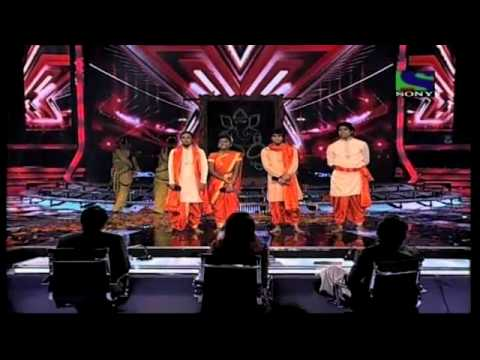 X Factor India - Nirmitees cheerful performance on Bappa Morya...