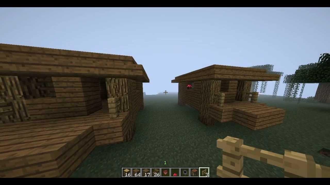 Tutorial minecraft 1 4 construire une maison de sorci re youtube - Construire une maison ...