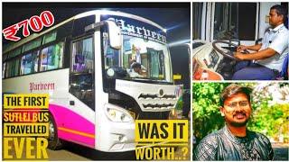 Parveen Travels   New Non- Ac Sutlej Bus   Bus Review   Rameswaram   Travel Vlog😎