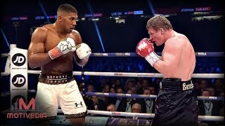 Anthony Joshua Vs. Alexander Povetkin - A CLOSER LOOK