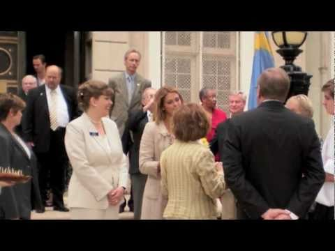 HRH Princess Madeleine at the American Swedish Historical Museum, June 5, 2011