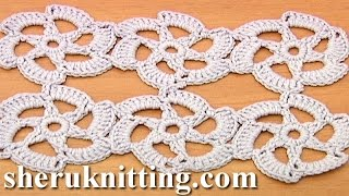 Easy to Crochet Floral Motif Tutorial 30