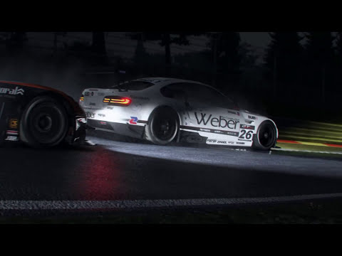 Project CARS - PS4/XBOne/PC/Wii U - Scary Nightime Racing (Halloween Trailer)