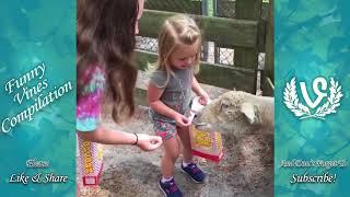 Animals Scaring Kids At Zoo   Animals Love To Scare Cute Kids-KhotauTV