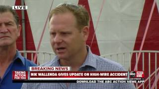 Nik Wallenda addresses high-wire accident at Circus Sarasota