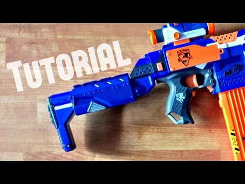 [TUTORIAL] How to extend a Nerf Retaliator stock attachment