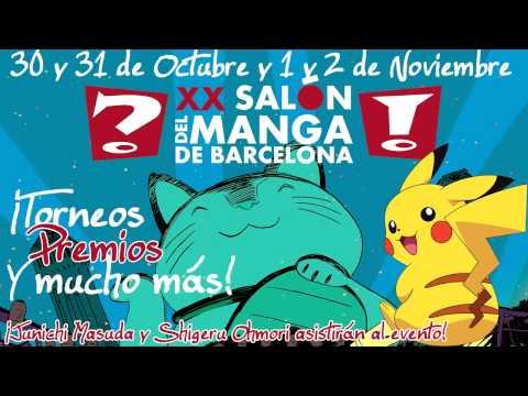 Salón del Manga de Barcelona 2014 #SpainPlaysPokemonTCG
