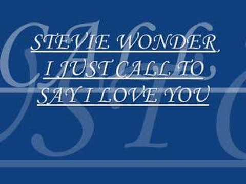 stevie wonder-i just call to say i love you Music Videos