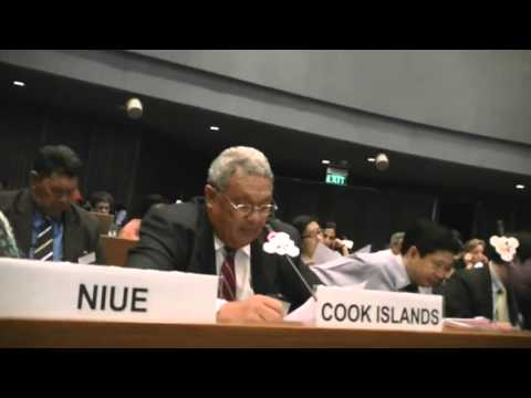 The Pacific Opening Statement by Cook Islands Minister for Health, Honorable Nandi Glassie