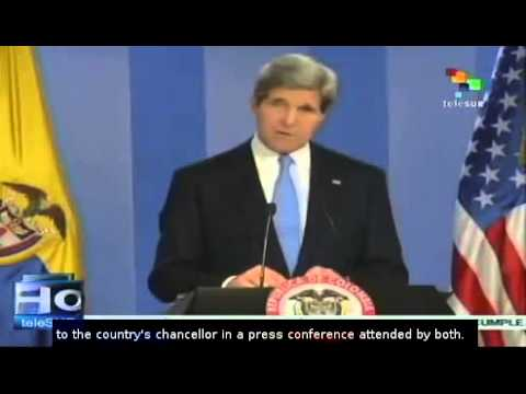 In Colombia, John Kerry justified U.S. spying