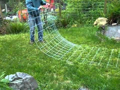 Raised Bed Vertical Garden 2 Bending Livestock Panels Youtube