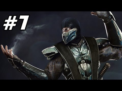 Let's Play Mortal Kombat 9 Story Mode Deutsch #07 - Smoke