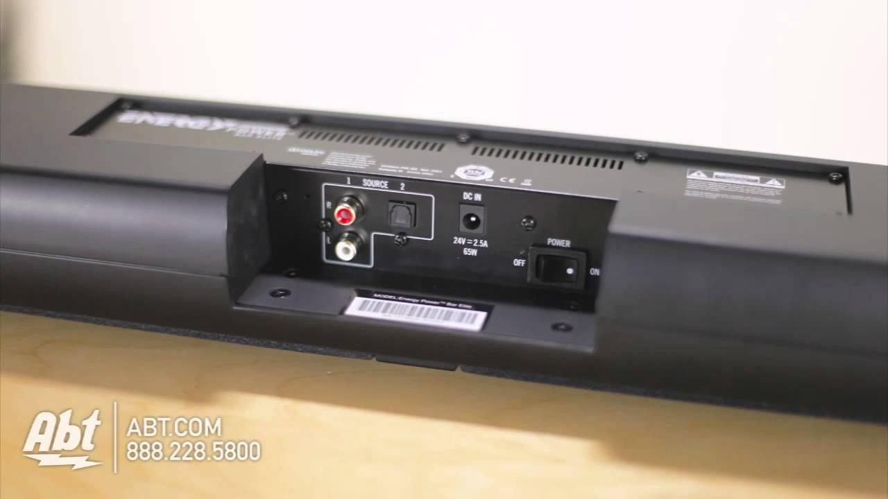 Overview Of Energy By Klipsch Power Bar Elite Soundbar