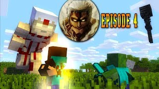 Monster School Series - Attack On Titan Episode 4 - Minecraft Animation