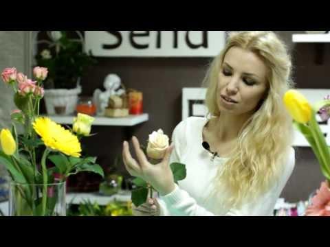 Видео как выбрать розы