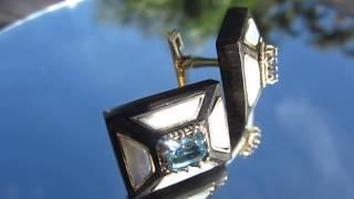 Piano Bar cufflinks by Jewelry Artisan Olivier J Cale