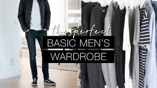 The perfect basic men's wardrobe | Effortless & lasting style