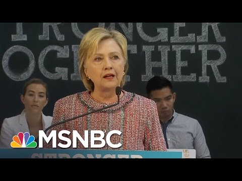 Hillary Clinton Makes Statement On Benghazi Report | MSNBC