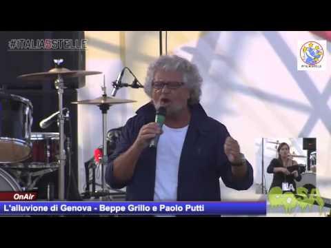 Beppe Grillo: Zucconi, vengo li e ti prendo a calci nel culo