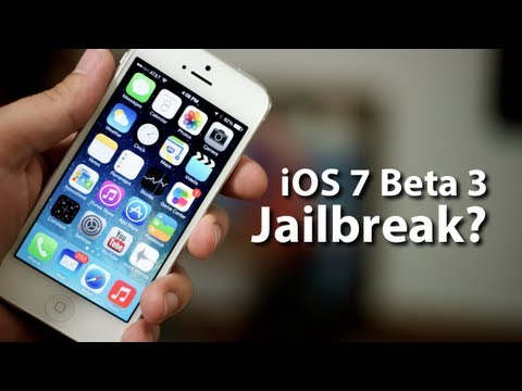 iOS 7 Beta 3 Overview And Jailbreak Status Update