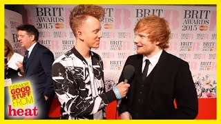 Brit Awards 2015 Ed Sheeran went to Pizza Express with Taylor swift!