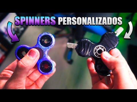 Personaliza Tu SPINNER!! SPINNER Con CUCHILLAS + PINTURA HIDRAULICA [bytarifa]