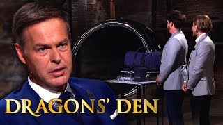 Peter Offers Up Five Figure Cash Sum For Airplane Parts | Dragons' Den