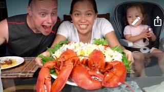 Vlog 685 ll Độc Đáo Với Món Salad Tôm Hùm 2 Con Quá Ngon