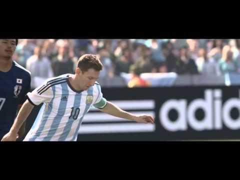 2014巴西世界盃使用指定足球Adidas Brazuca 廣告新登場