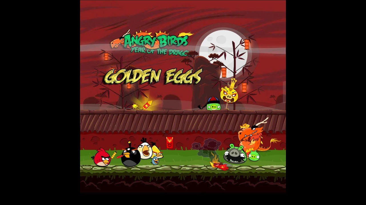Angry Birds Golden Eggs Locations Guide (iPhone)