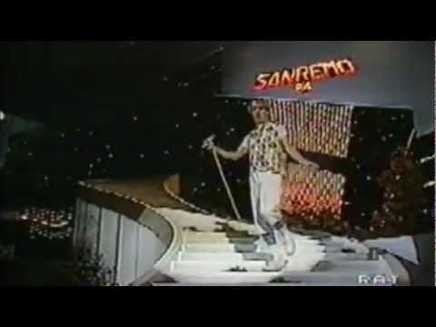 Alberto Camerini – La Bottega Del Caffe' – Sanremo '84 – LQ – HD – By Mrx