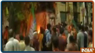 Amit Shah के रोड शो में BJP-TMC कार्यकर्ताओं के बीच झड़प, TMC पर पत्थरबाजी का आरोप