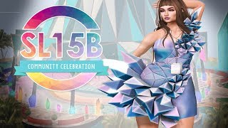 Celebrate SL15B with me - Second Life